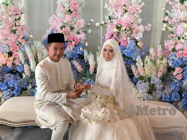 Dengan Sekali Lafaz, Bella Dally Selamat Bernikah dengan Arif