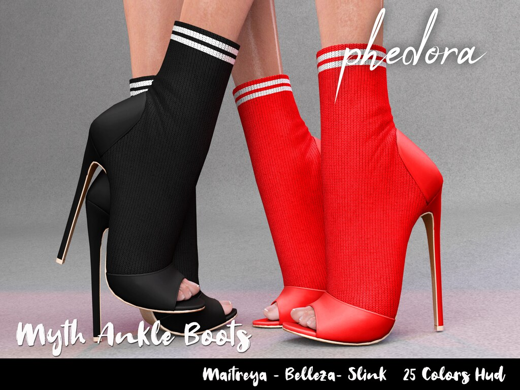 "Phedora. for Uber sl – ""Myth"" ankle boots♥"