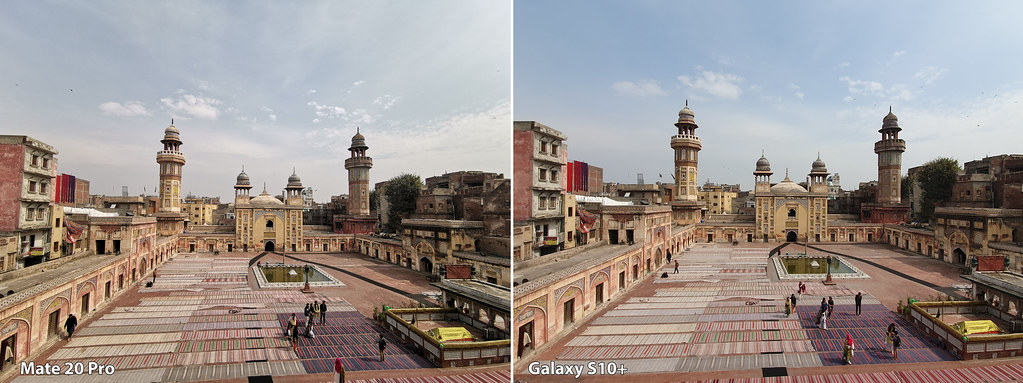 Mate 20 vs Galaxy S10+: Shot with ultra wide angle lens