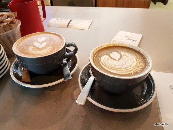 Elephant Grind Coffee latte art