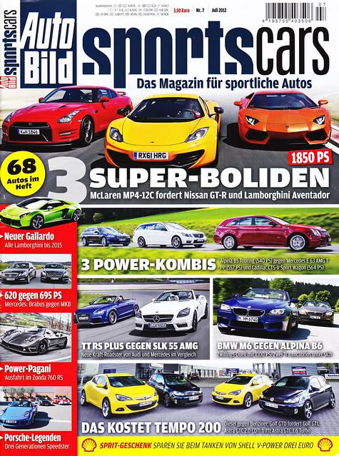 Auto Bild Sportscars 7/2012