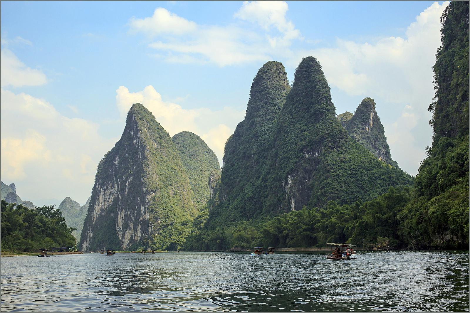Li river boat tour, Canon EOS 5D MARK II, Canon EF 50mm f/1.4 USM