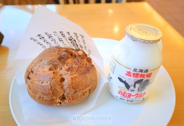hokkaido itinerary niseko cream puff and yogurt