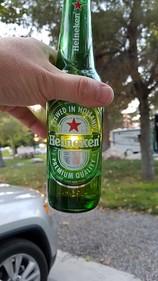 sunset beerart sun bottle beer