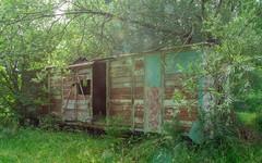 Le wagon abandonné de l'Aube