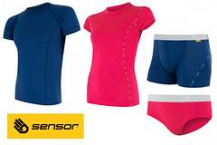 Známe vítěze soutěže o trika a spodní prádlo Sensor Merino Air