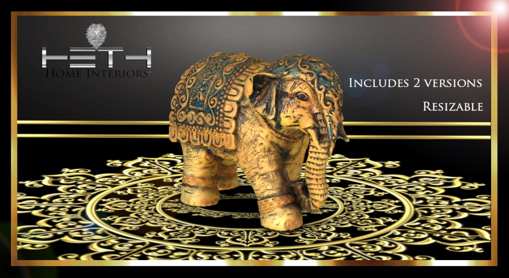 HHI – East Indian Elephant POSTER