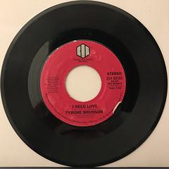 TYRONE BRUNSON:THE SMURF(RECORD SIDE-B)