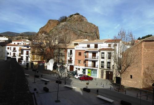 Cambil (Jaén-España). Plaza de la Constitución