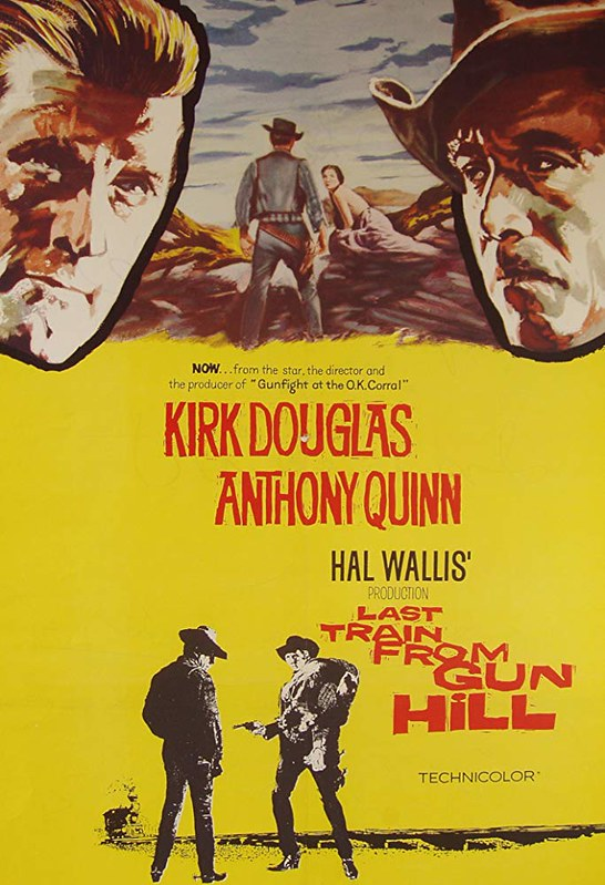 Last Train from Gun Hill - Poster 1