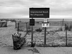 Unprotected Beach - No Lifeguards 4