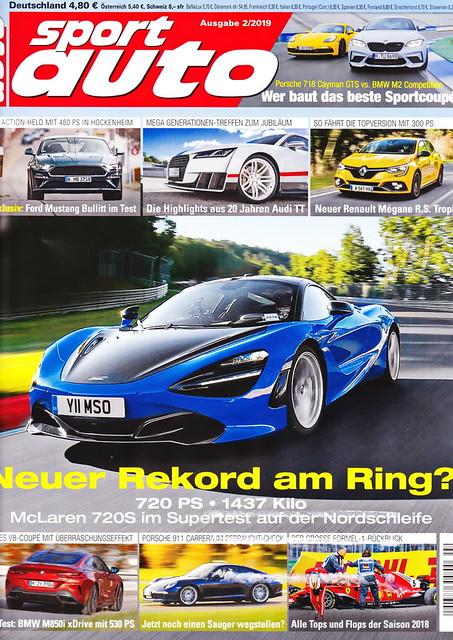 sport auto - 2019-02 - cover