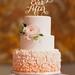 Wedding Cakes : Wedding cake idea; Featured Photographer: Studio Finch Photography