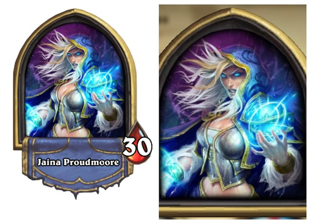 하스 스톤 Jaina Proudmoore Censored