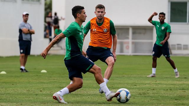 Treino do Fluminense - 07/02/2019