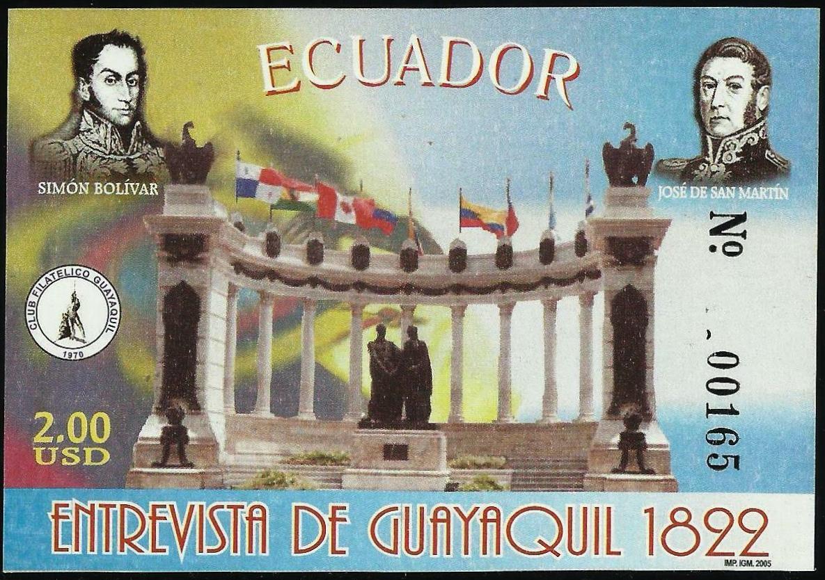 Ecuador - Scott #1736 (2005)