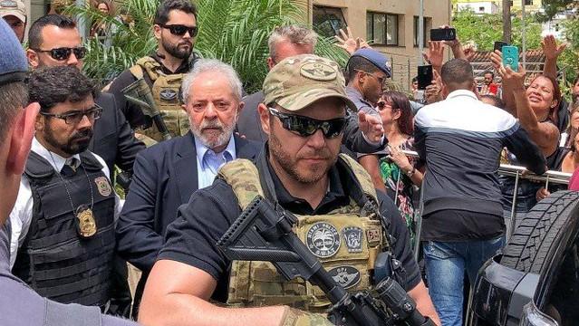 Pró-Bolsonaro, agente Danilo Campetti fez um curso de especialização de 80 horas com a polícia de Miami - Créditos: (Foto: Ricardo Stuckert/Institutlo Lula)