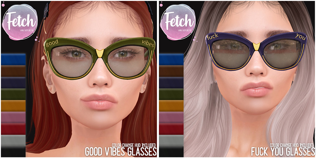 [Fetch] Fuck You & Good Vibes Glasses @ Fifty Linden Friday!