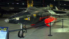 North American X-15A-2, National Museum of the US Air Force, Dayton, Ohio, USA.
