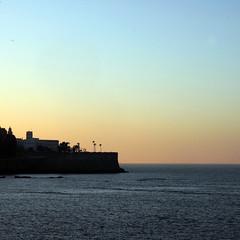 Cádiz, al atardecer...