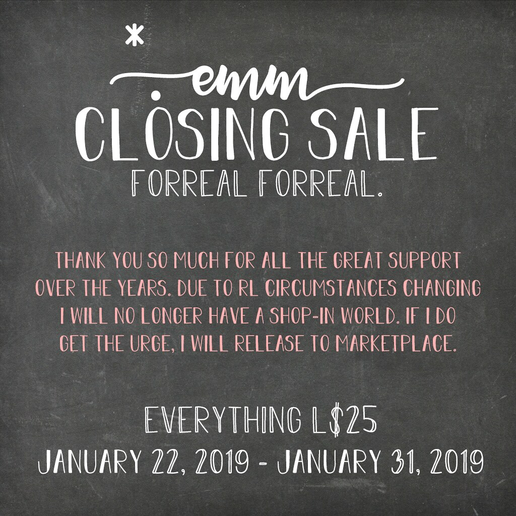 *. emm is closing up. - TeleportHub.com Live!
