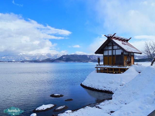 秋田 田澤湖 浮木神社