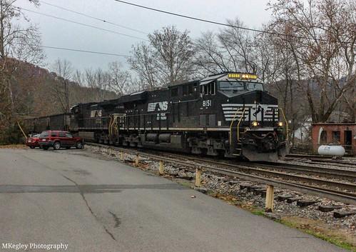 NS U40 making it's moves in Appalachia, VA.