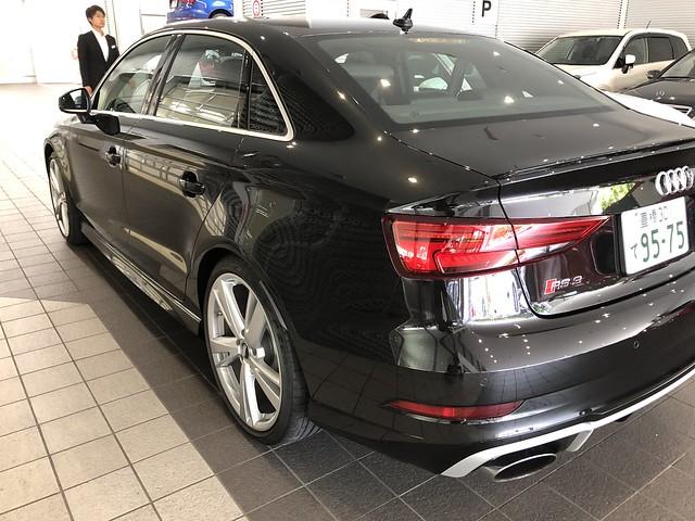 Audi RS3 Sedan (2018) 試乗