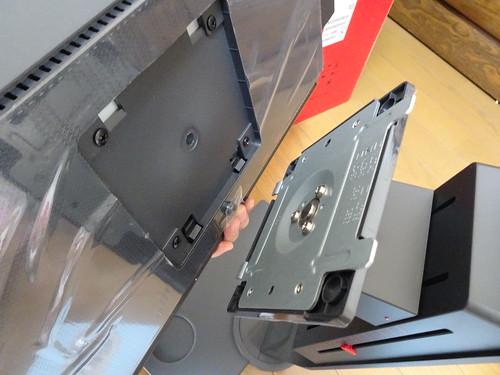 BenQ XL2546 240Hz ゲーミングディスプレイの組み立て