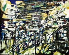 Untitled (1955) - Vieira da Silva (1908 - 1992)
