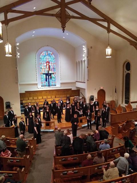 March 8, 2019, Asbury United Methodist Church Performance, Kankakee, IL