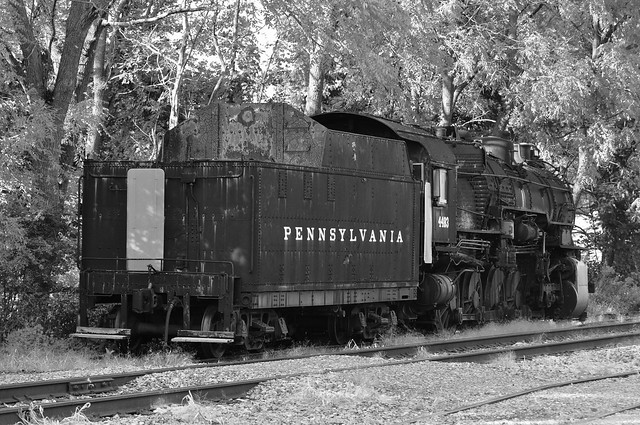 Retired and weathering Iron Horse