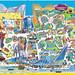 Blackpool Pleasure Beach 2016 Park Map