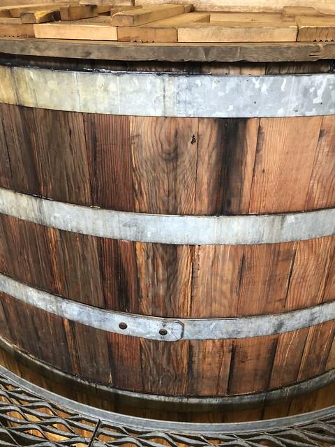 Lochranza Distillery - Oregon Pine Washback