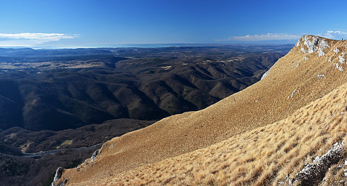 slovenija slovenia notranjska nanos outdoors hiking landscape panorama