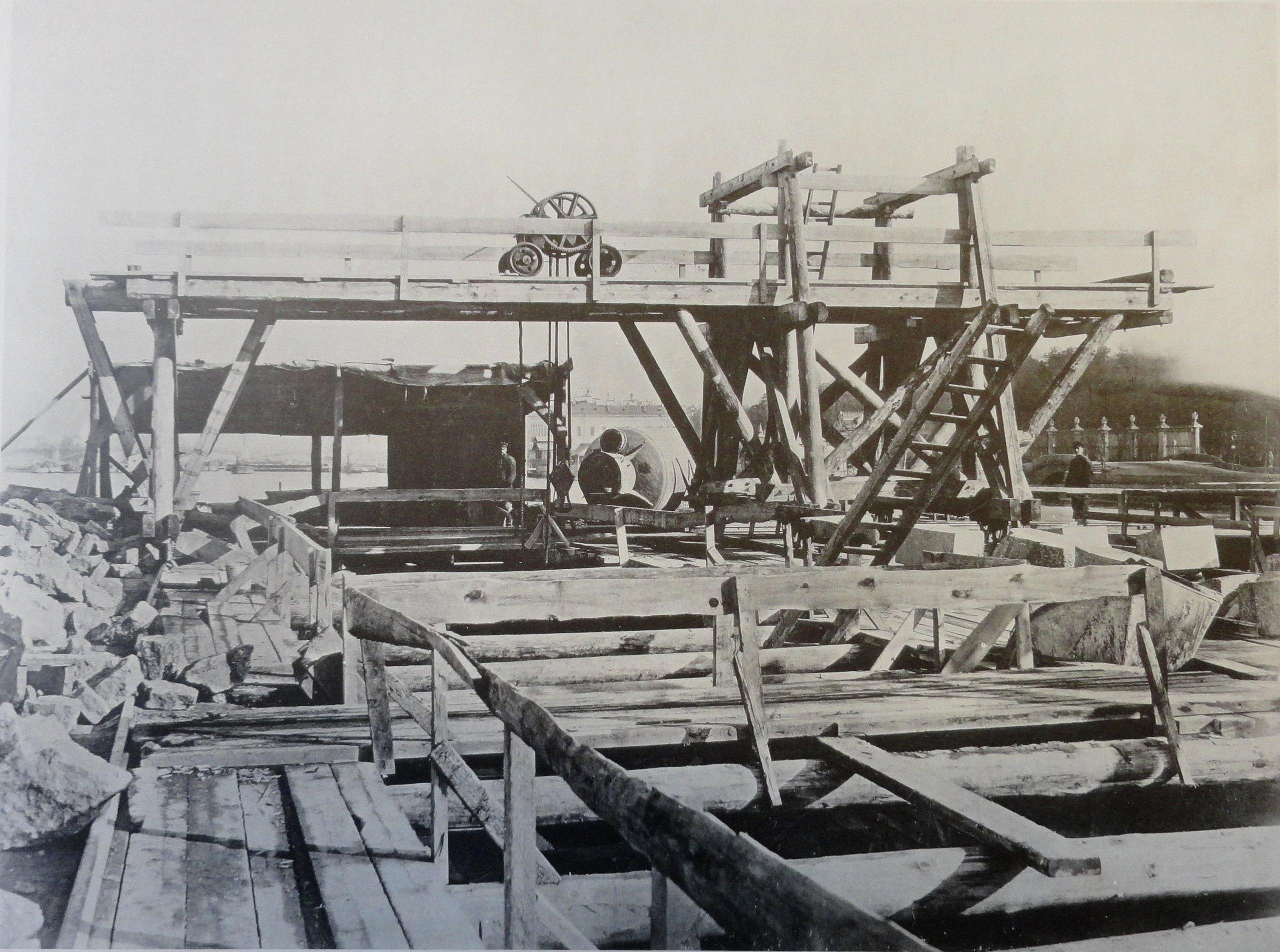 1900. Бык №2. Кладка тела быка. Лето