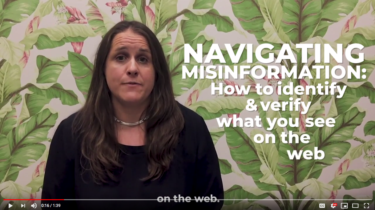 Navigating Misinformation