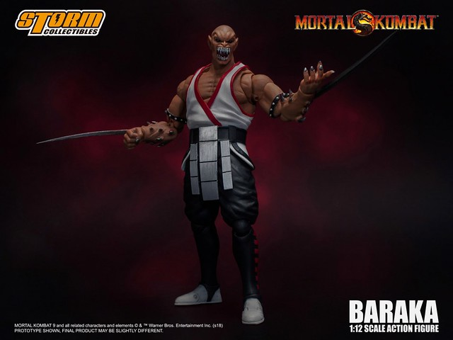 STORM COLLECTIBLES 《真人快打》變異狂戰士「巴拉卡」!Mortal Kombat – BARAKA Action Figure