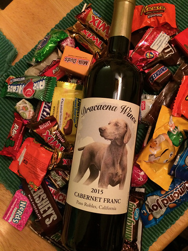 Dracaena Wines 2015 Cabernet Franc and Halloween Candy