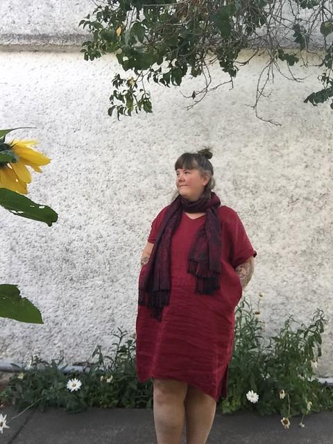 StyleArc Adeline Marsala Linen