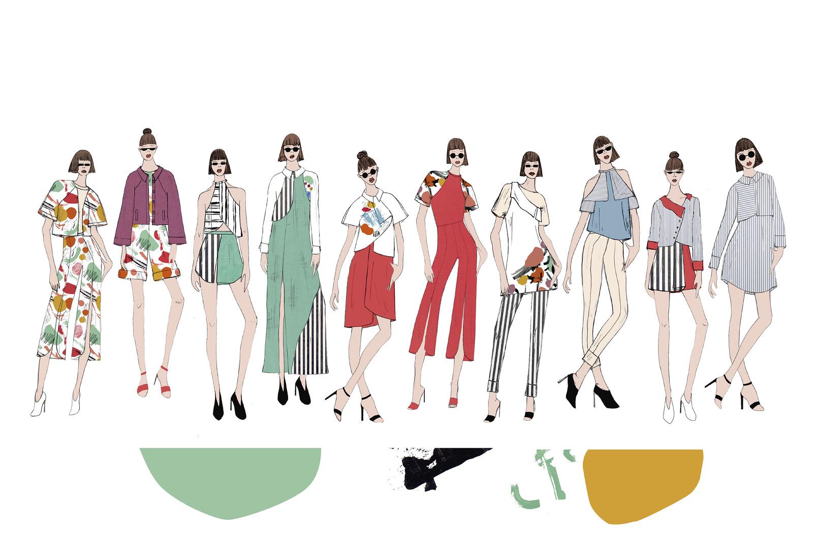 Recreación 19 - Paspartú, para Bervena, proyecto de Pía Langenhin, de la Licenciatura en Diseño de Modas