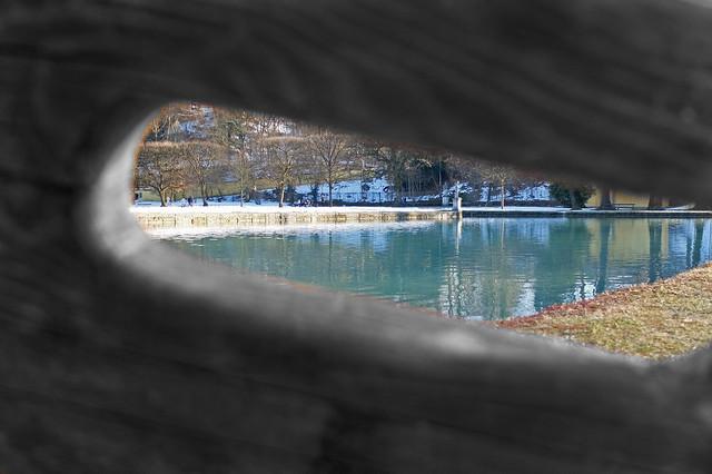 A view through the gap -