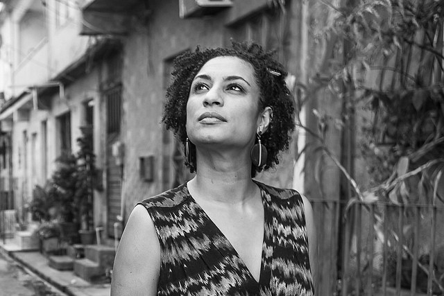 A fierce human rights activist, councilwoman Marielle Franco was killed one year ago on Mar. 14 - Créditos: Mídia Ninja/Handout