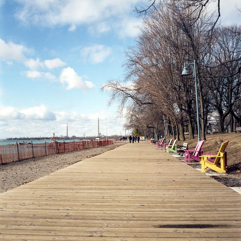 Balmy Beach Boardwalk