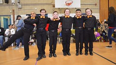 Boys Before The Ballroom Dance Competition