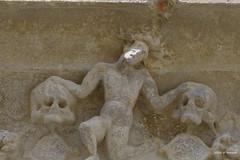 Cathédrale de Auch, détail porte sud