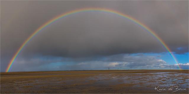 Chasing rainbows!