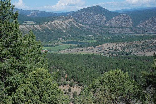 A View from Great Kiva Trail. From History Comes Alive at Chimney Rock National Monument
