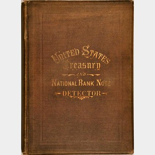 1878 Thirteenth Edition Banking House Detector cover