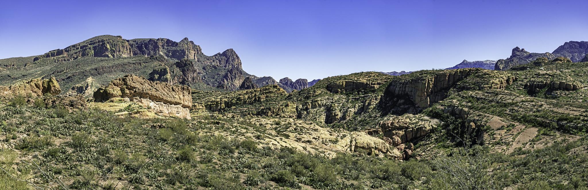 Arizona desert pano